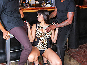 Tag Teaming A Hot Bartender image 2