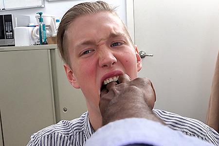 mommas boy comes clean on my big black dick